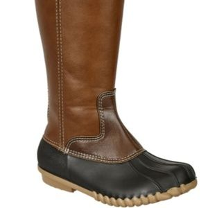 Other - NEW Girls Black Combo Duck Boots